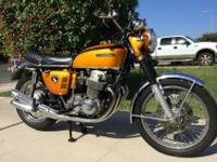 1969 Honda CB750 Sandcast. It is not all-original, and