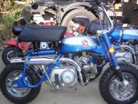 Restored with original Honda parts Tank retains