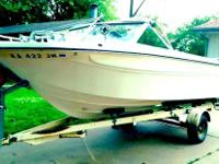 IMP Commanche Boat with Trailer INCLUDED! 155 hp, V6