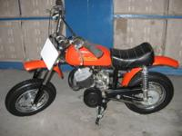 this is a 1969 indian italjet 47cc dirt bike super rare