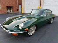 This car comes in British Racing Green from the