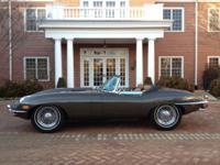 1969 Jaguar E-Type Xke II This XKE Roadster is