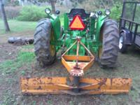 I am selling my 1969 John Deere 1020 (GAS) 2WD tractor