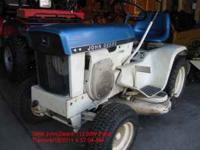 For Sale a 1969 John Deere 112 Blue & White Patio