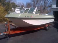 This one's a classic. 1969 Johnson Seasport. 15'; 155HP