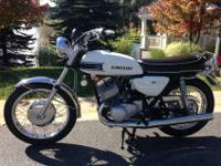 Selling my 1969 ultra rare Kawasaki Mach III 500 H1.One