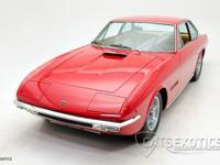 1969 Lamborghini Islero V12 GT S finished in Rosso Red