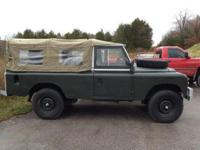 This 1969 Land Rover Series III is in great working