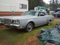 1969 Lincoln Mark III in Excellent Condition Silver