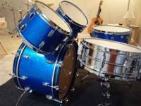 Isn't it time you owned a vintage Ludwig 5 piece drum