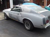 1969 Mustang Mach 1. This car is driveable has new