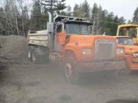 10 yard dump truck, great for farm or off highway