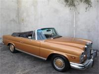 1969 Mercedes Benz 280SE Cabriolet Chassis #