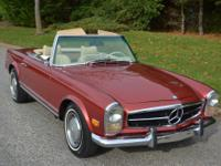 1969 Mercedes-Benz 280SL in highly restored