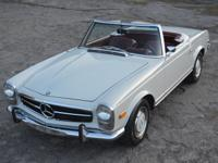 This stunningly beautiful 37589 mile Pagoda Top 280 SL