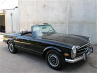 1969 Mercedes Benz 280SL with 2 tops! This is a, 1969