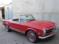 1969 Mercedes Benz 280SL This is a, 1969 Mercedes-Benz
