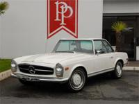 This 280SL is a very likable example that emerged in