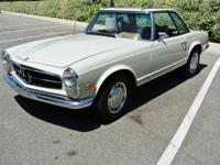 Lovely Mercedes Benz 280SL automatic with 78-480