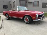 1969 Mercedes Benz 280SL. Beautiful Signal Red Paint!