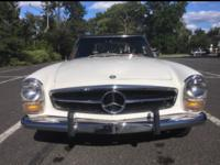 1969 Mercedes Benz 280SL with 32k original miles it's a