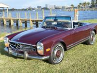 1969 Mercedes Benz 280SL   This 280sl is an excellent
