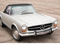 The Mercedes-Benz 230-280 SL series continued the
