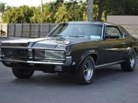 1969 Mercury CougarYear: 1969Interior Color: Dark Green