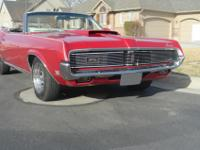 Beautiful running as it is standing still, 1969 Cougar