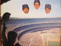 1969 NEW YORK METS YEARBOOK REPRINT, Floating Heads