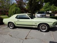 Selling my 1969 Mustang. Awesome car. Manufactured in