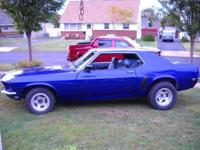 for sale is a 80 % recovered gorgeous 1969 mustang cp