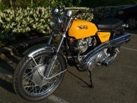 The Norton Commando, a Norton- Villiers motorbike was