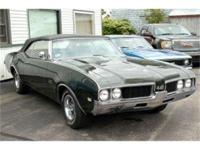1969 Oldsmobile 442 Convertible 4 speed. 1 of 1761