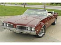 We're proud to present a slick 1969 Cutlass S