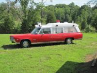 Original 1969 Oldsmobile 98 cotter/bevington ambulance