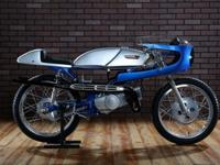 1960s Suzuki race bikes are about as uncommon as you