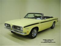 Stk. 1506 1969 Plymouth Barracuda Convertible Detailed