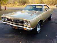 This is a one owner, all original 1969 GTX. The