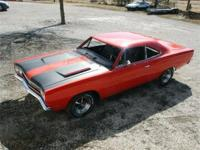 Real RM21H9 69 Road Runner coupe. Serial number on