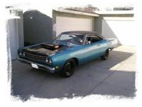 1969 1/2 Lift-off Hood 4spd Road Runner, B5