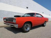1969 1/2 Road Runner 440 Six Pack A12 M Code