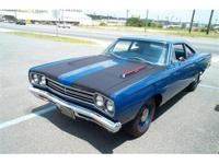 1969 Plymouth HEMI Roadrunner, Matching numbers, E74-
