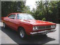 1969 Plymouth Roadrunner Rare Factory 4-Speed 2-Door