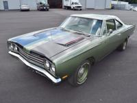 1969 Plymouth Road Runner. Excellent and immaculate