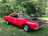 1969 Plymouth RoadRunner for sale (IN) - $49,000. 1969