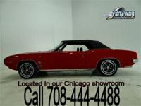 1969 Pontiac Firebird Convertible for sale in our