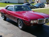 1969 Pontiac Firebird This Firebird was crafted with
