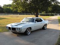1969 Pontiac Firebird very clean 36,420 miles.
