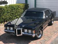 1969 Pontiac Grand Prix model J  400 ci  Triple Black